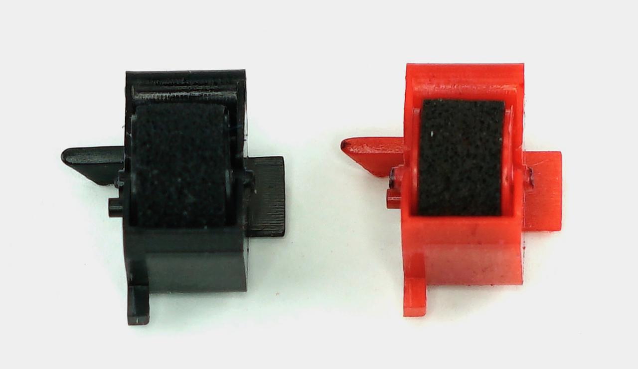 GRC R878-IRBR SHARP EA780 BLK/RED INK ROLLER, COMPATIBLE