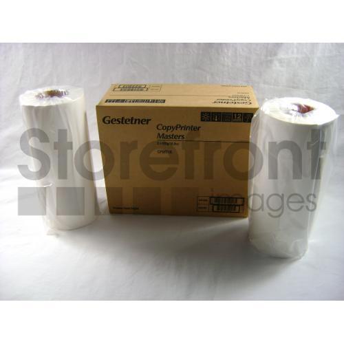 GESTETNER 5308L A4 2PK 240MM X 125M MASTERS, 260 EA yield