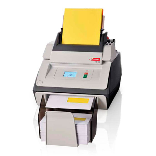INTIMUS TSI 2.5 OFFICE PAPER FOLDER & INSERTER