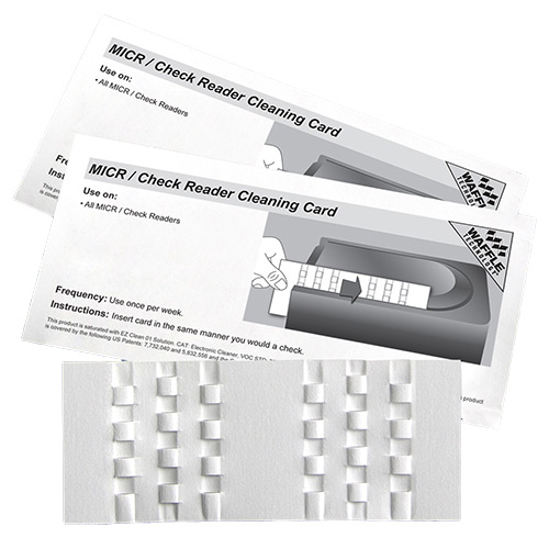 KICTEAM CASH ACCEPTOR WAFFLE CLEAN CARDS-15CT