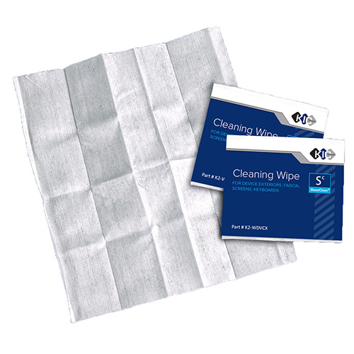 KICTEAM SHEERCLEAN WET CLEANING WIPES-50CT