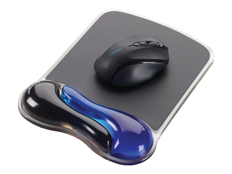 KENSINGTON K62401AM BLUE DUO GEL WAVE MOUSE PAD