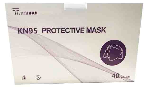 KN95 THREE-DIMENSIONAL 40CT PROTECTIVE MASKS