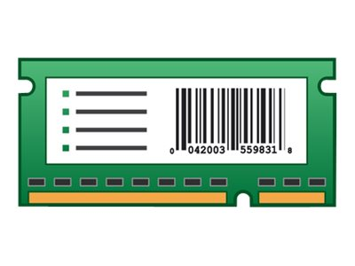 LEXMARK CS510DE FORMS & BAR CODE CARD