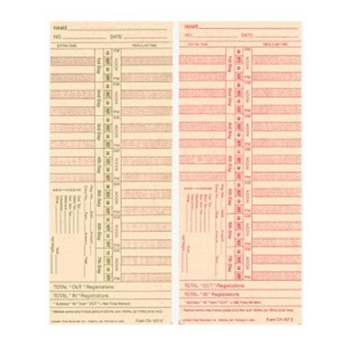 LATHEM 2126 (0-23HR) BX/1000 BIWKLY/2-SIDED