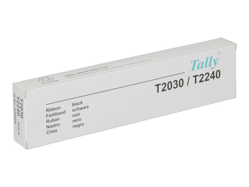 TALLY T2030 BLACK PRINTER RIBBON, 4 MILL yield