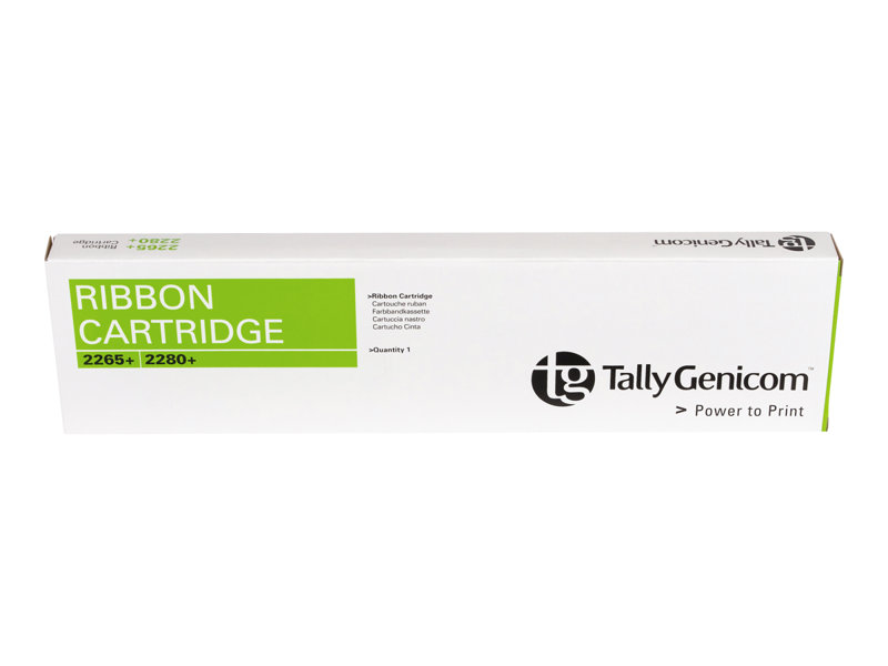 TALLY T2265+ BLACK RIBBON W/SENSOR, 20 MILL yield