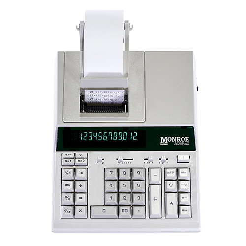 MONROE 2020PLUSX IVORY MEDIUM DUTY CALCULATOR