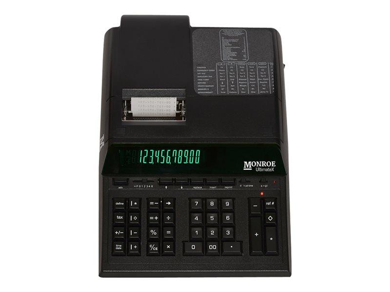 MONROE ULTIMATEXB BLACK 12 DIGIT IKT DESK/PRINT