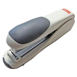Max Usa Max 30 Sheet Gray Desktop Flat Cinch Stapler