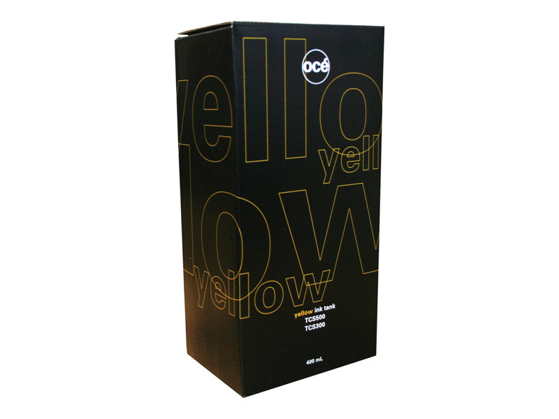 OCE TCS300/TCS500 SD YLD YELLOW INK, 400 ML yield