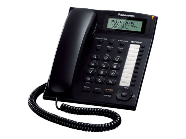PANASONIC KXTS880 BLACK CORDED W/SPEAKERPHONE