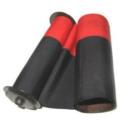PAYMASTER 8000 (608) BLACK/RED NYLON RIBBON