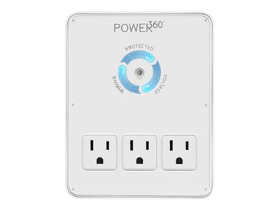 PANAMAX P360-DOCK WALL 6 OUTLET/2 USB SURGE