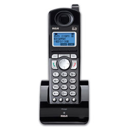 RCA 25055RE1 BLACK DECT ADDITIONAL HANDSET