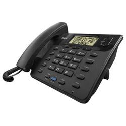 RCA 25201RE1 BLACK CORDED/2-LINE/SPEAKER
