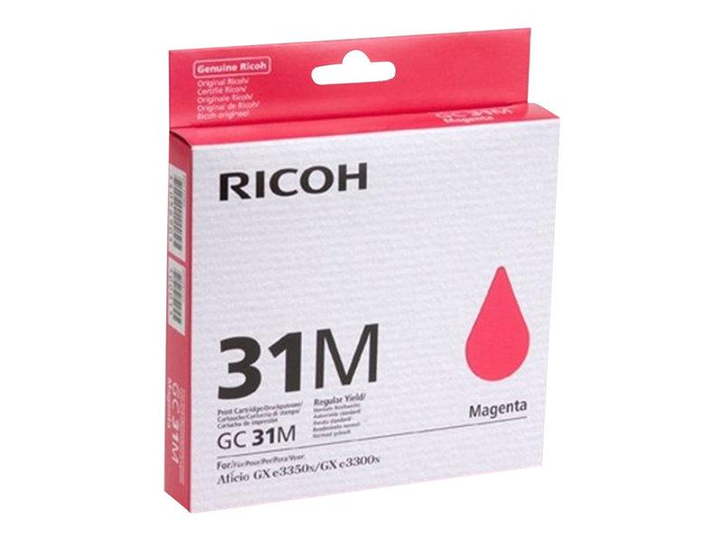 RICOH AFICIO GXE3300N GC31 SD YLD MAGENTA INK, 1,560 yield