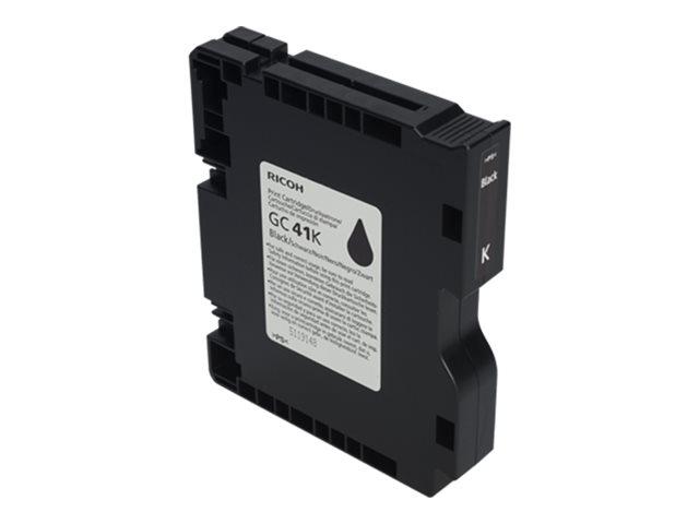 RICOH AFICIO SG3110DN GC41 SD YLD BLACK INK, 2.5k yield