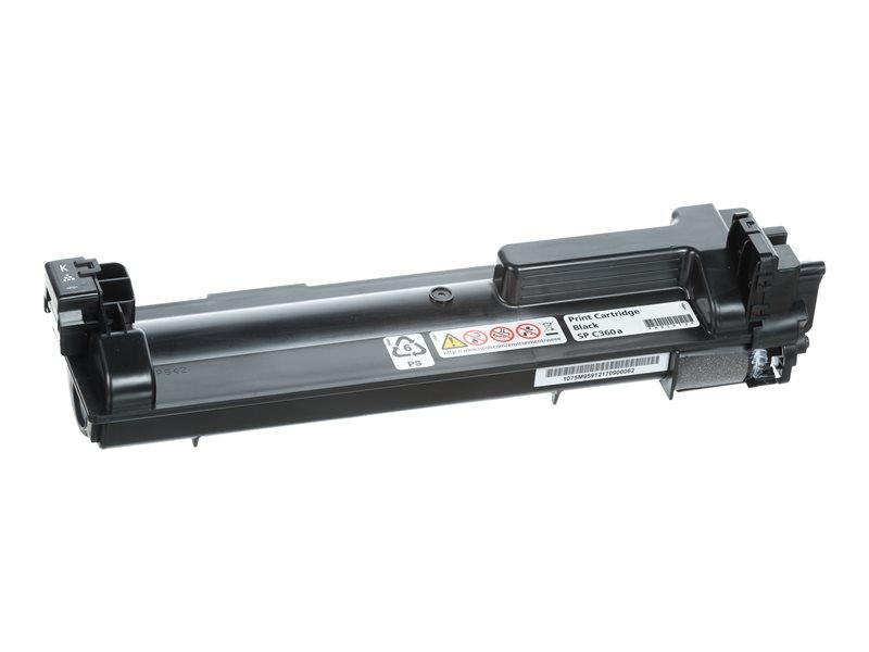 RICOH AFICIO SPC360DNW C360A SD BLACK TONER, 2.5k yield