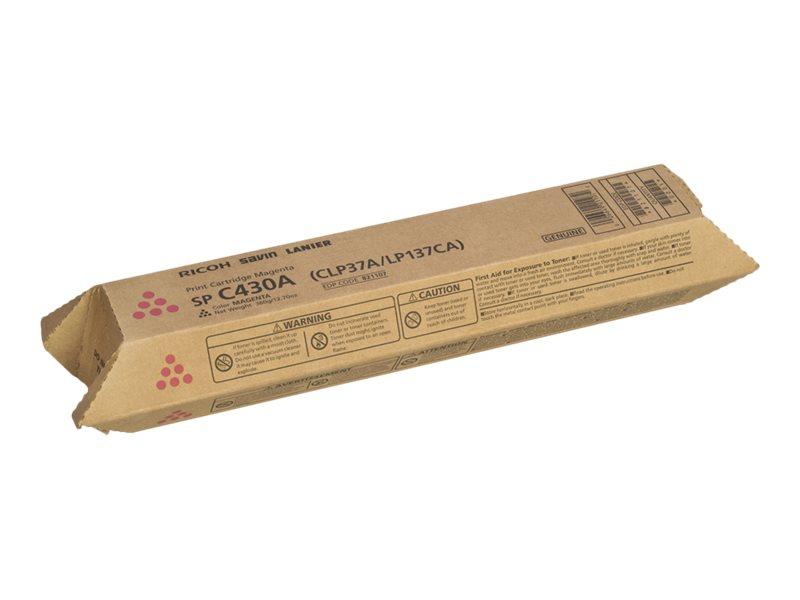 RICOH AFICIO SPC430DN C430A SD MAGENTA TONER, 21k yield
