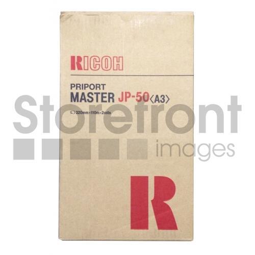 RICOH JP5000 (A3) JP-50 2PK 320MM X 110M MASTERS