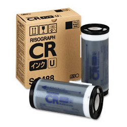 RISOGRAPH CR1610 2PK SD YLD BLACK INKS, 20k yield
