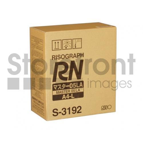 RISOGRAPH RN2030  A4 2PK 227MM X 100M MASTERS, 215EA yield