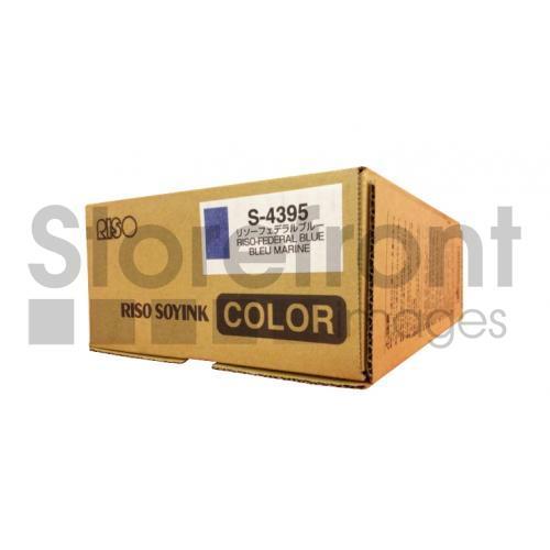 RISOGRAPH GR1700 2PK SD FEDERAL BLUE INKS, 5kEA yield