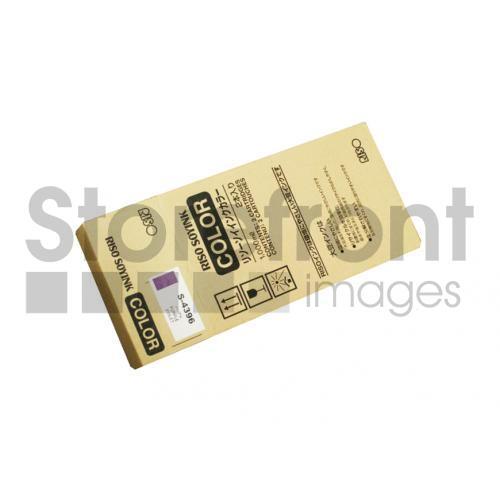 RISOGRAPH GR1700 2PK SD YLD PURPLE INKS, 5kEA yield