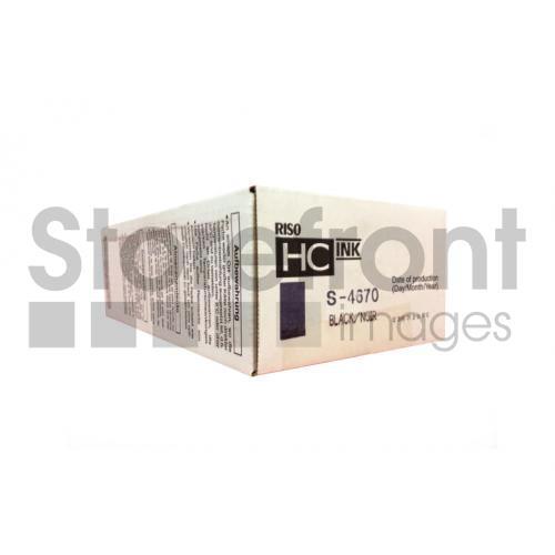 RISOGRAPH HC5000 SD YLD BLACK INK, 32k yield