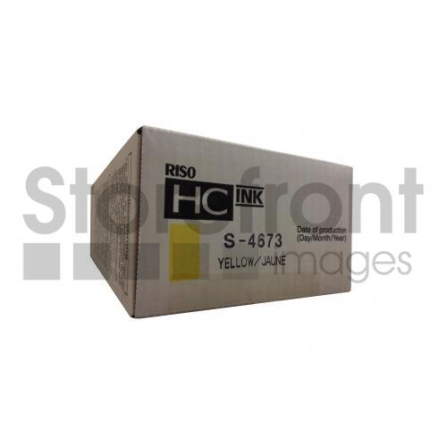 RISOGRAPH HC5000 SD YLD YELLOW INK, 32k yield