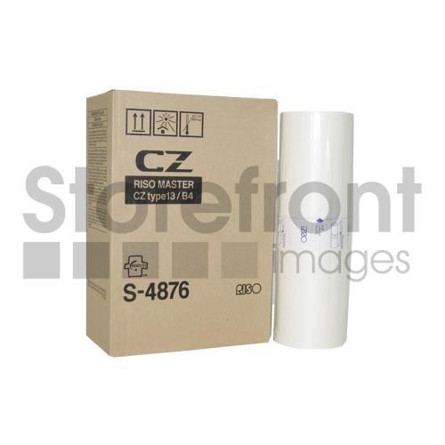 RISOGRAPH CZ180  B4 2PK 270MM X 93M  MASTERS, 204EA yield