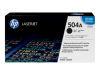 HP COLOR LASERJET CP3525 504A SD BLACK TONER OEM Part: CE250A