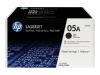 HP LASERJET P2035 2PK 05A SD BLACK TONERS OEM Part: CE505D