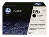 HP LASERJET P2055X 05X HI BLACK TONER OEM Part: CE505X