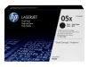 HP LASERJET P2055X 2PK 05X HI BLACK TONERS OEM Part: CE505XD