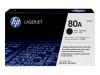 HP LASERJET M401N 80A SD BLACK TONER OEM Part: CF280A