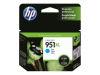 HP OFFICEJET PRO 8600 #951XL HI CYAN INK OEM Part: CN046AN