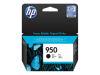 HP OFFICEJET PRO 8600 #950 SD BLACK INK OEM Part: CN049AN
