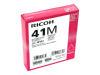 RICOH AFICIO SG3110DN GC41 SD YLD MAGENTA INK OEM Part: 405763