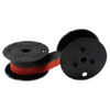 VICTOR 1260-3 SPOOL BLACK/RED FABRIC RIBBON OEM Part: 7010